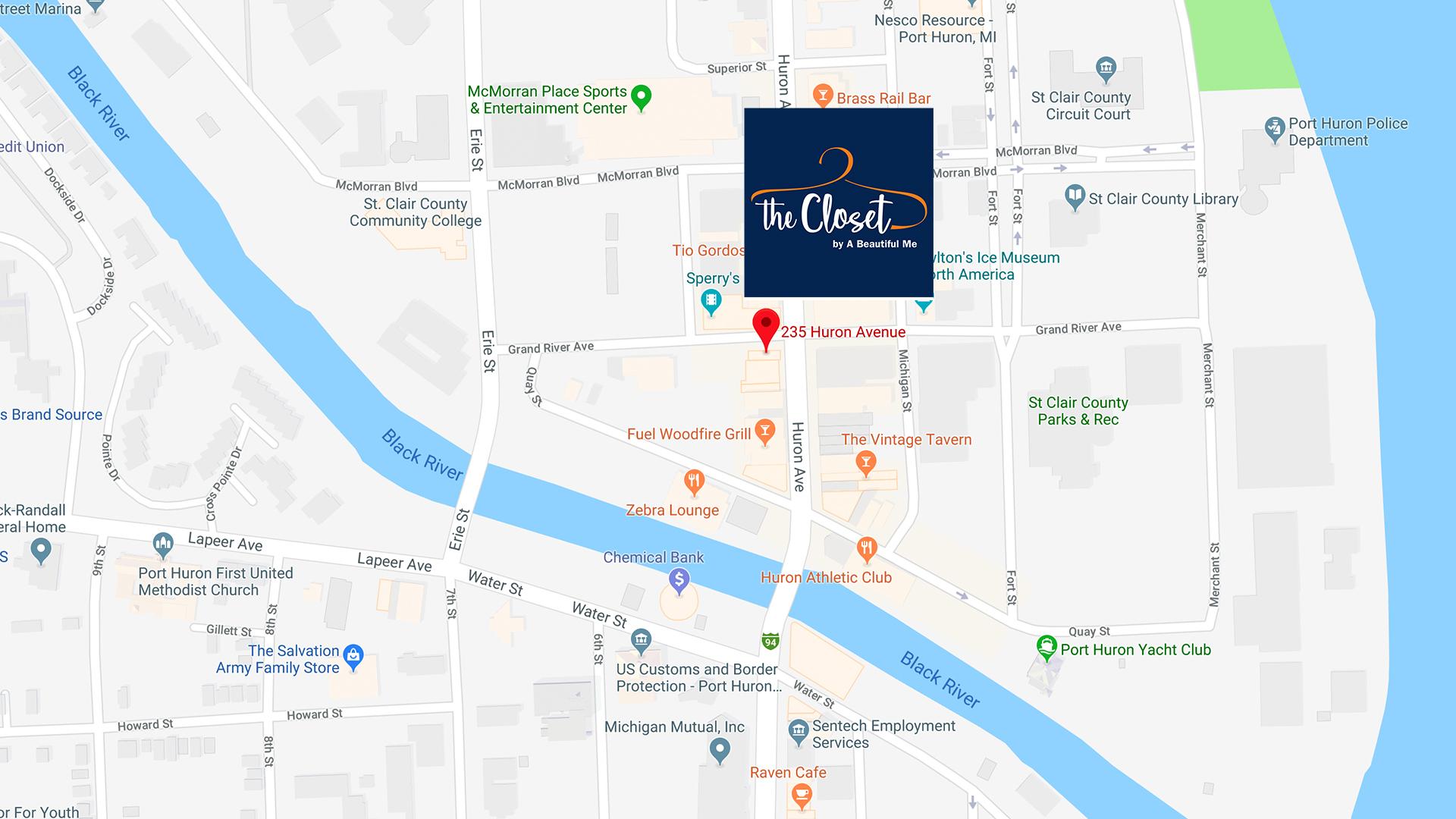 The Closet Map
